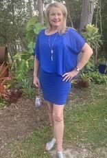 Frank Lyman Frank Lyman Cobalt Blue Dress