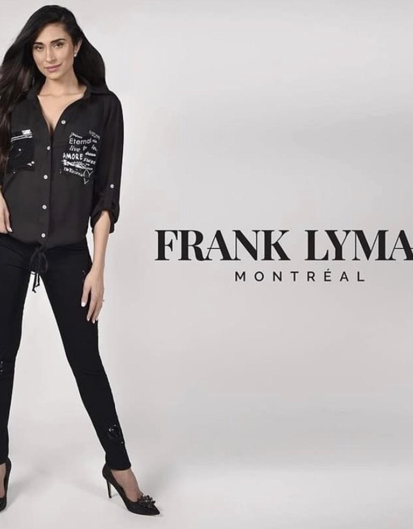 Frank Lyman Sequin detail pocket Top