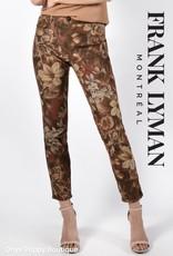 Frank Lyman Rust Reversible Jeans