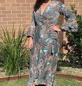 Lily T Eleanor Wrap Dress