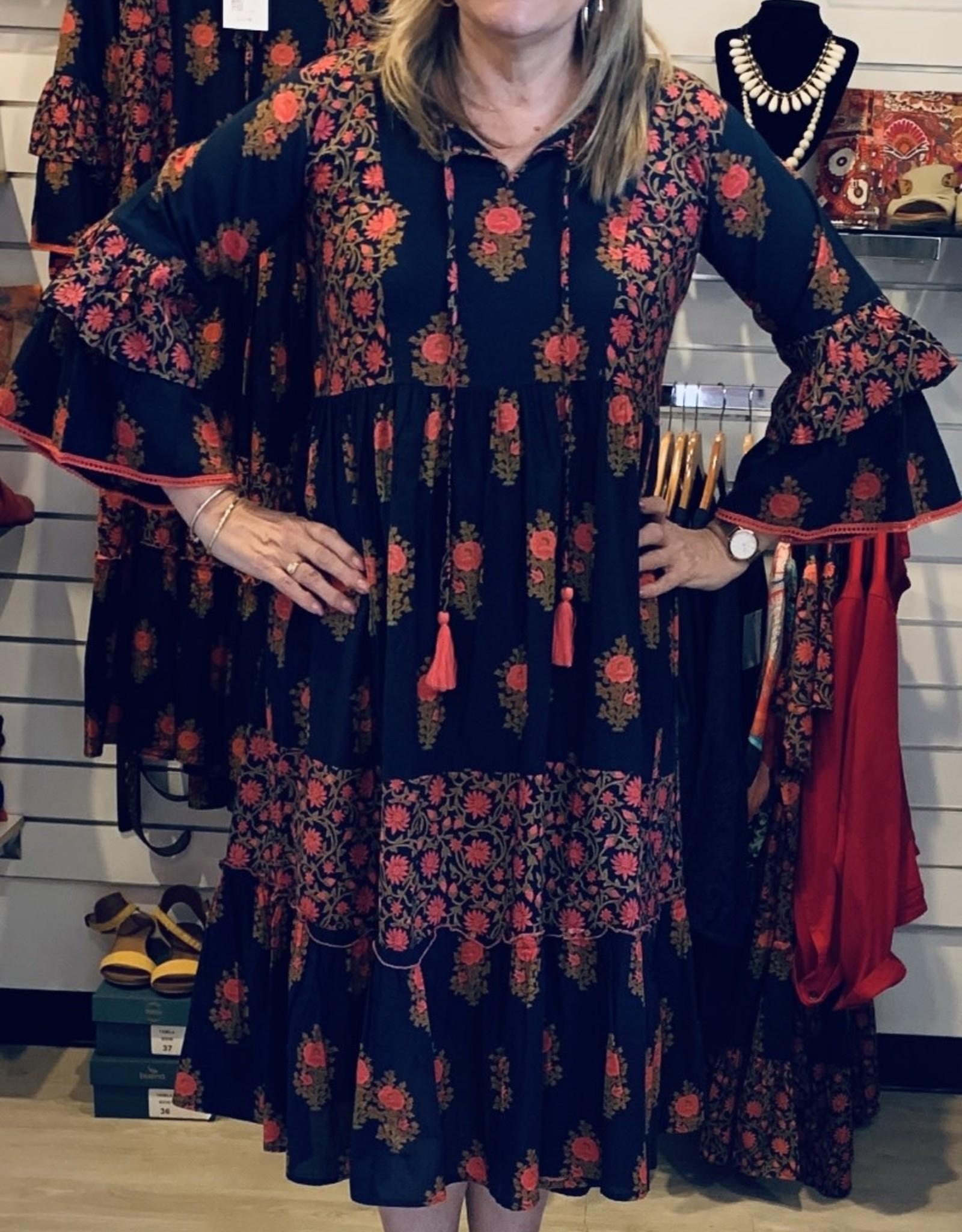 Naudic Primrose Ketchup Dress