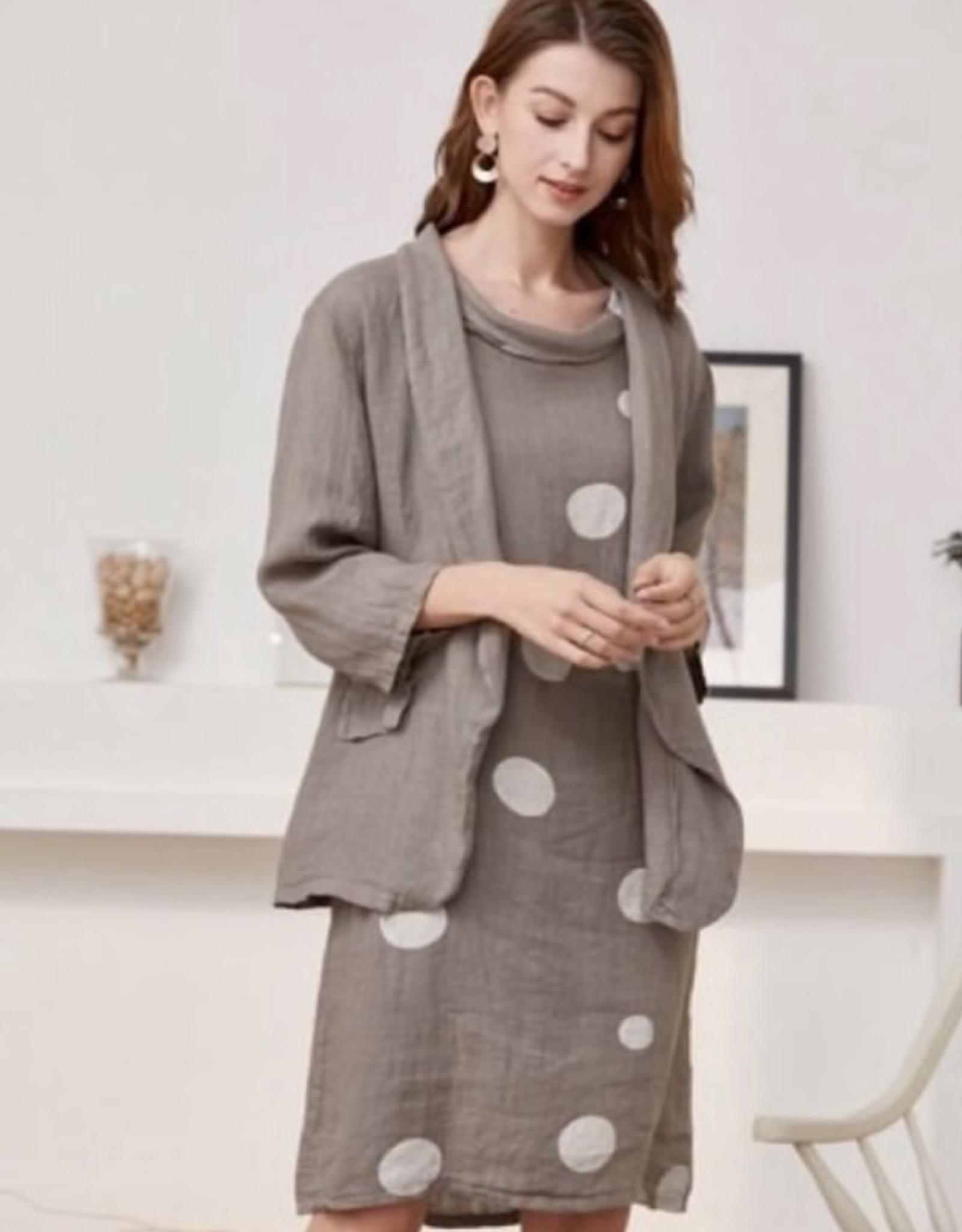 Rosa Jo Jo Linen Shift Dress