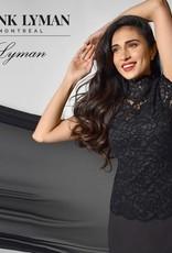 Frank Lyman Black Lace Top
