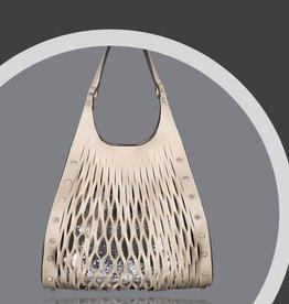 Aidangus Champagne Shoulder Bag
