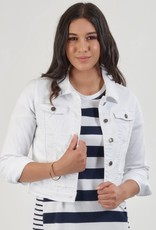 Vassalli White Cotton Jacket