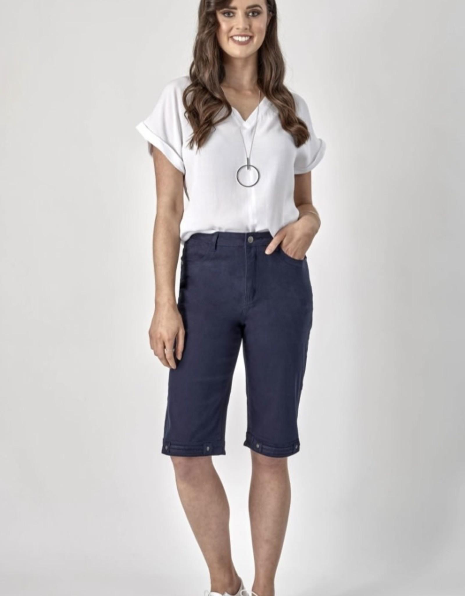 Vassalli Navy Straight Leg Short