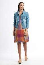Foil Well Established Linen Dress