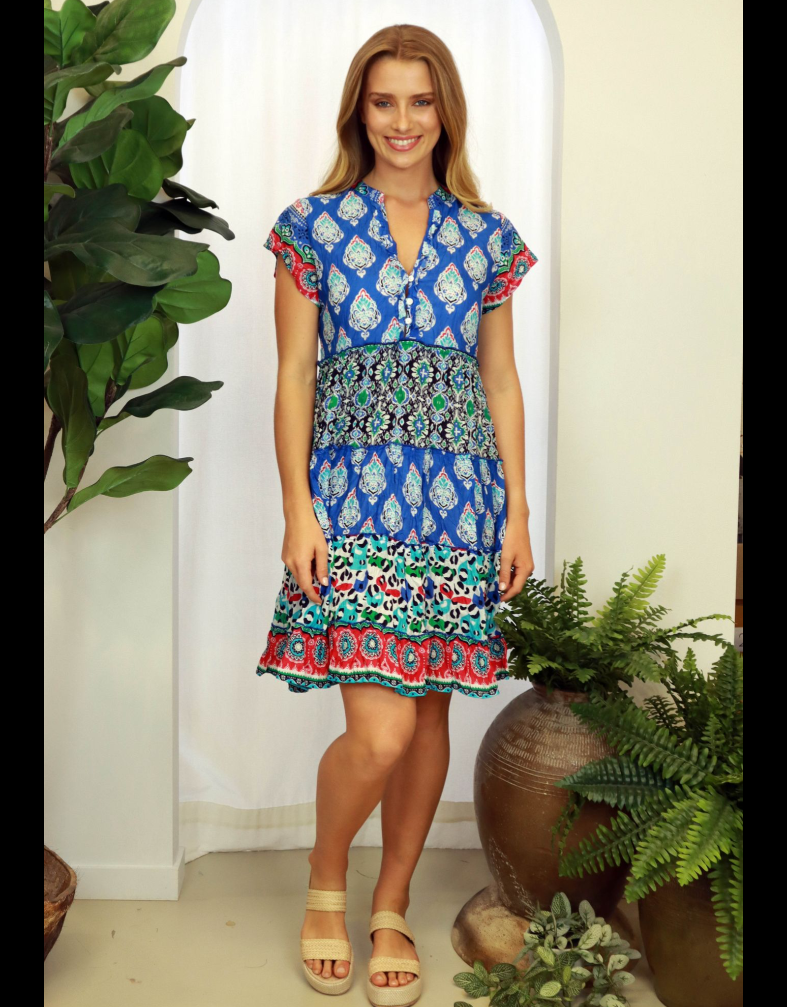 Ainsley Tiered dress