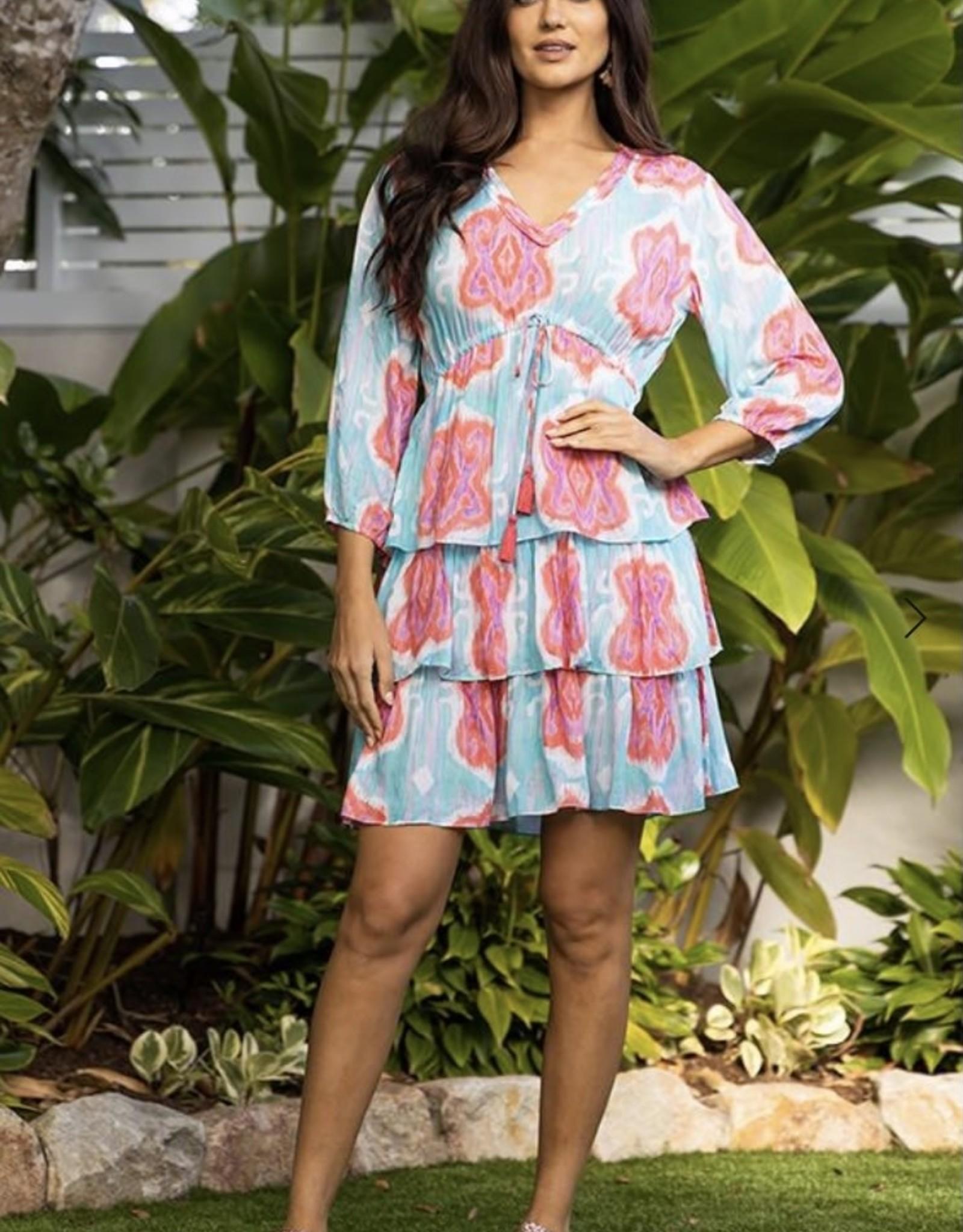 Lula Soul Dallas Tiered Dress