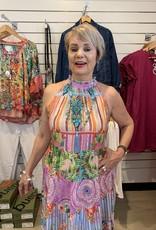 Lula Soul Bowie Tiered Midi Dress