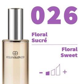 Equivalenza Eau de Toilette Floral Sucré 026