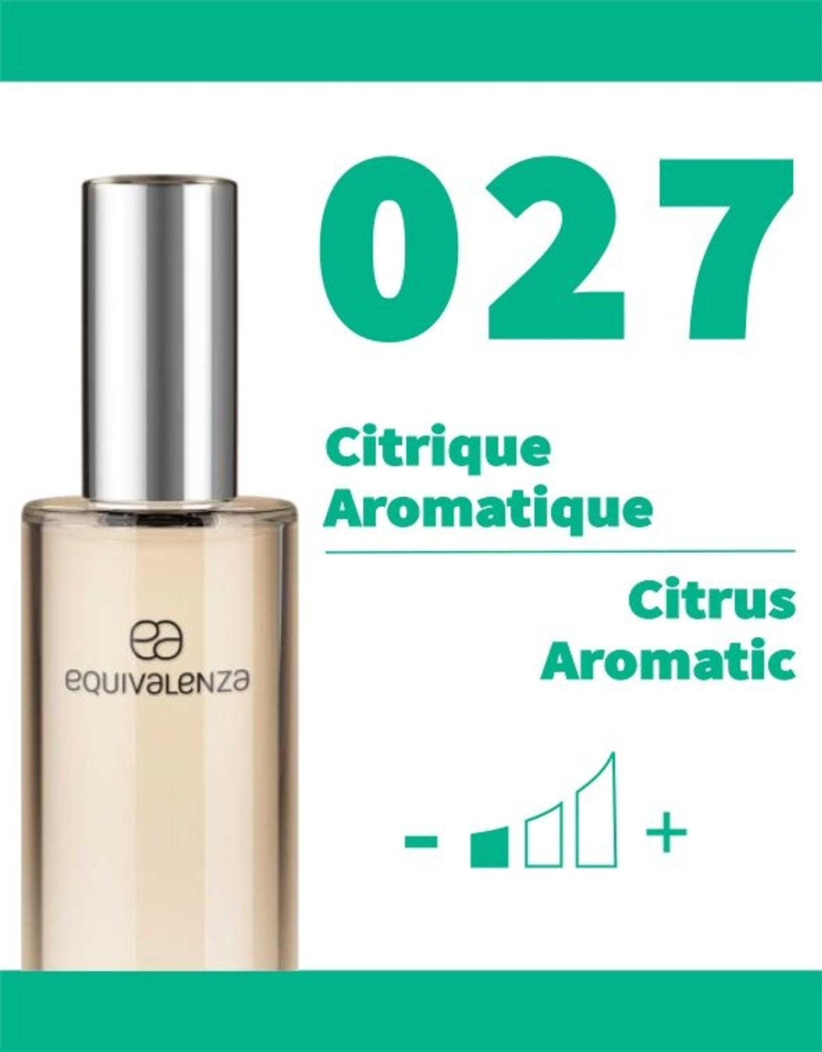 Equivalenza Eau de Toilette Citrique Aromatique 027
