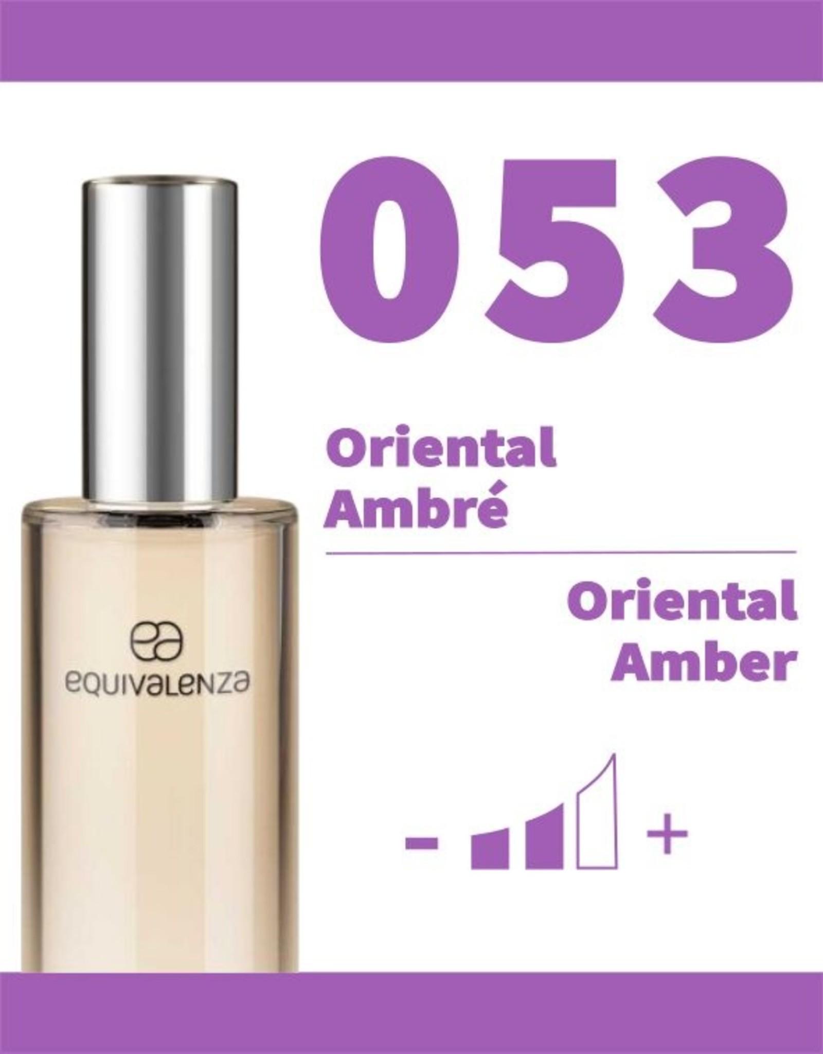 Equivalenza Eau de Toilette Oriental Amber 053