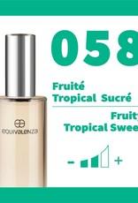 Equivalenza Eau de Parfum Fruity Tropical Sweet 058
