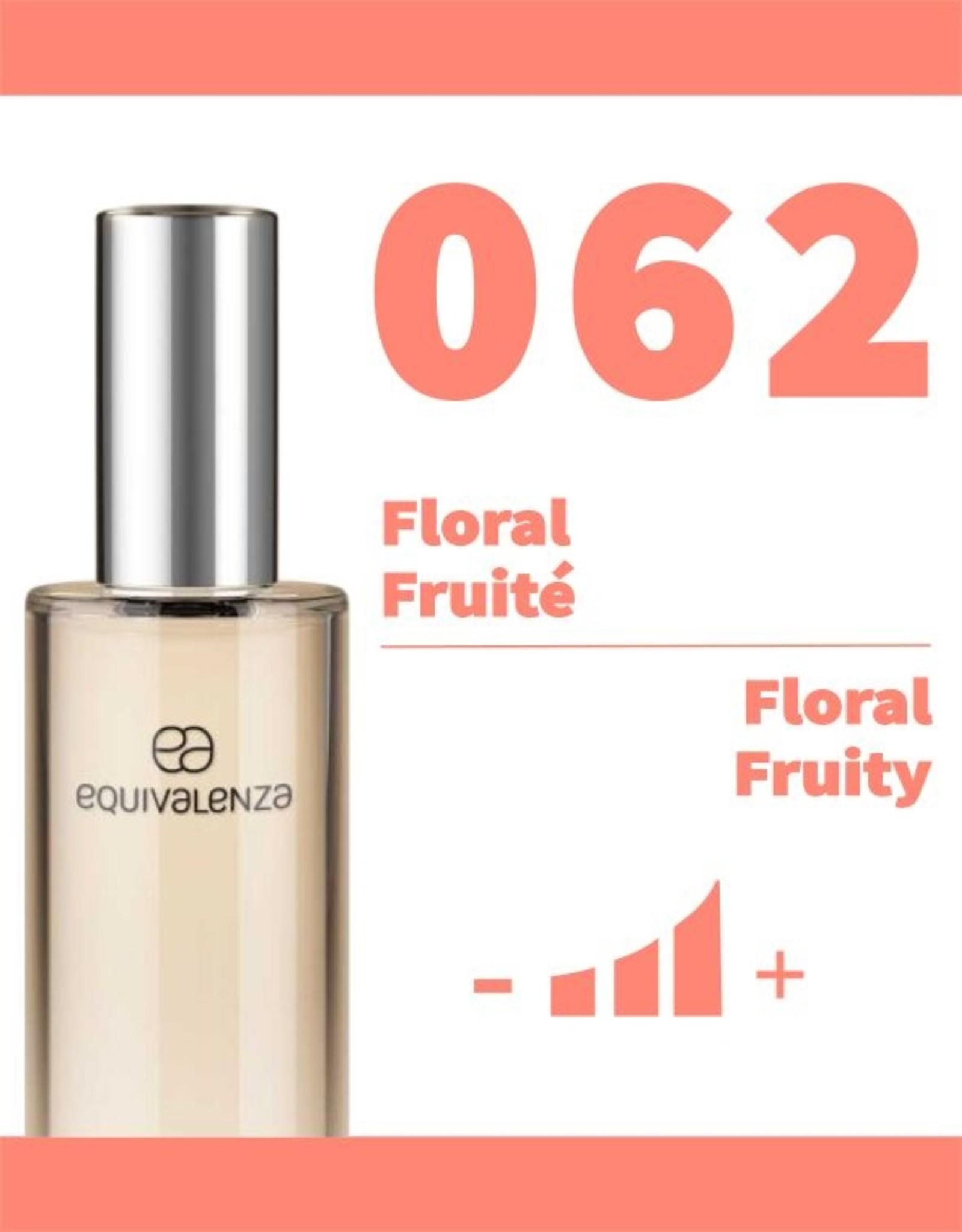 Equivalenza Eau de Parfum Floral Fruity 062