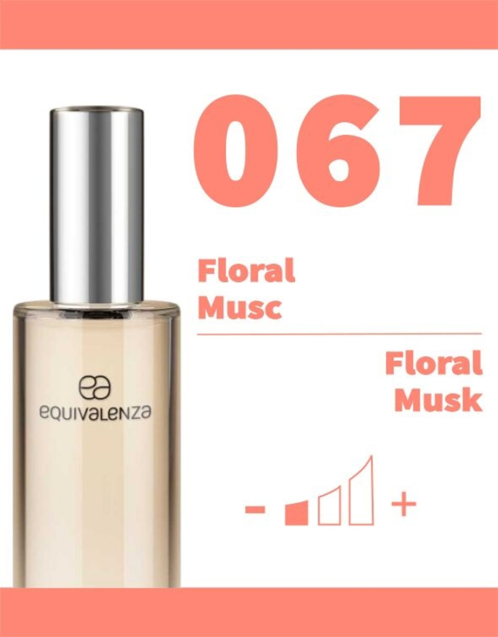 Equivalenza Floral Musc 067