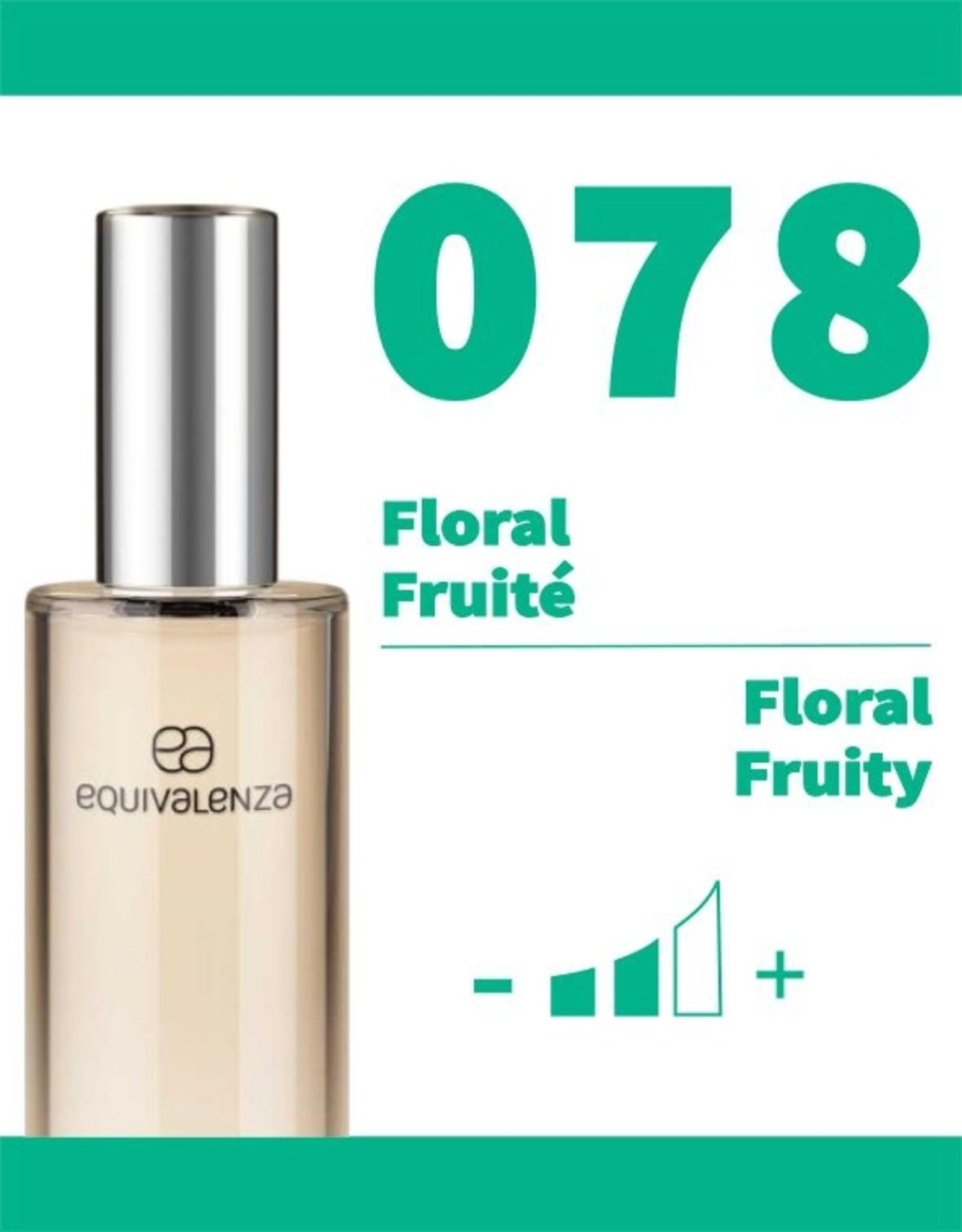 Equivalenza Eau de Parfum Floral Fruity 078