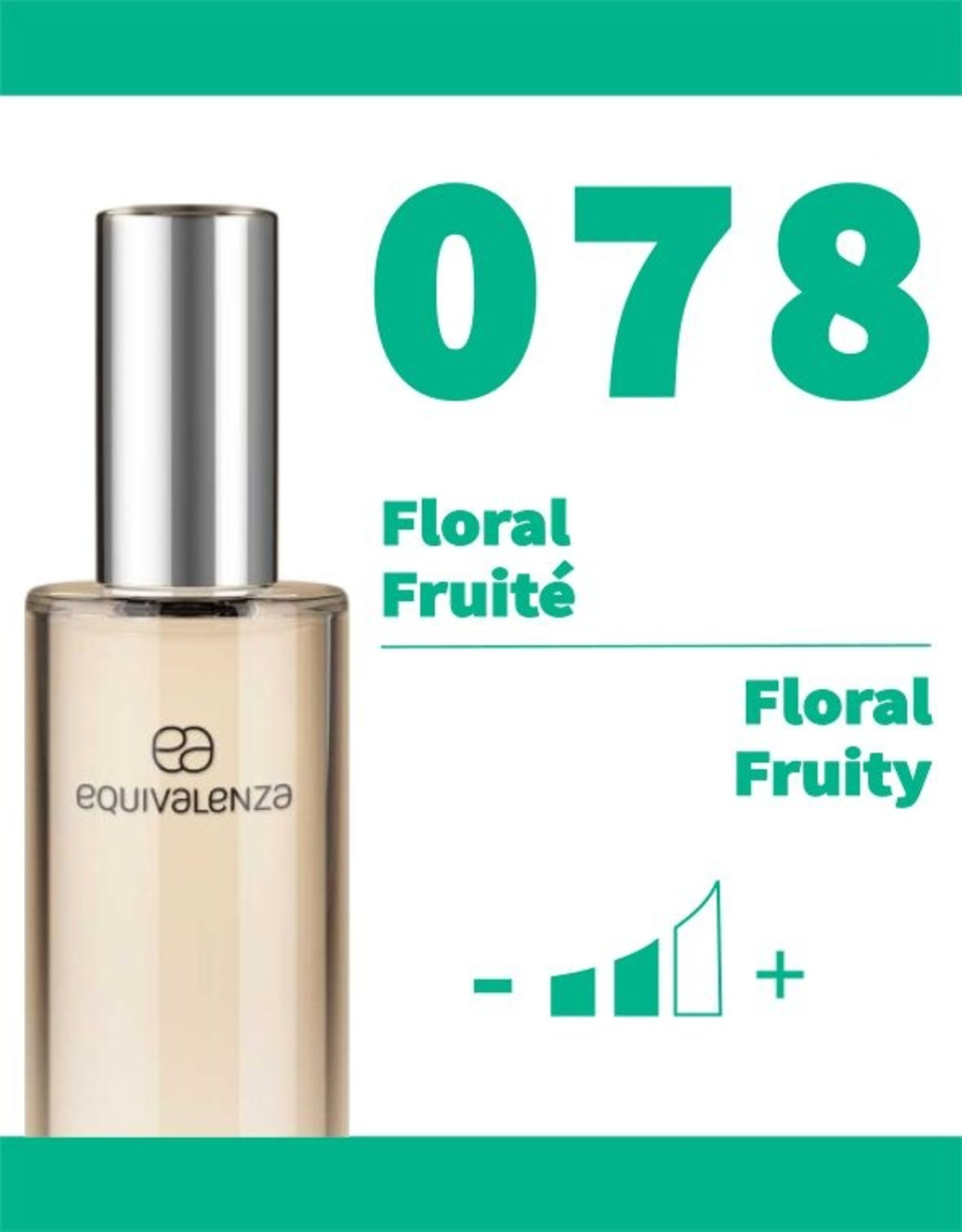 Equivalenza Floral Fruity 078