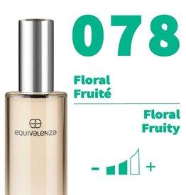 Equivalenza Eau de Parfum Floral Fruité  078