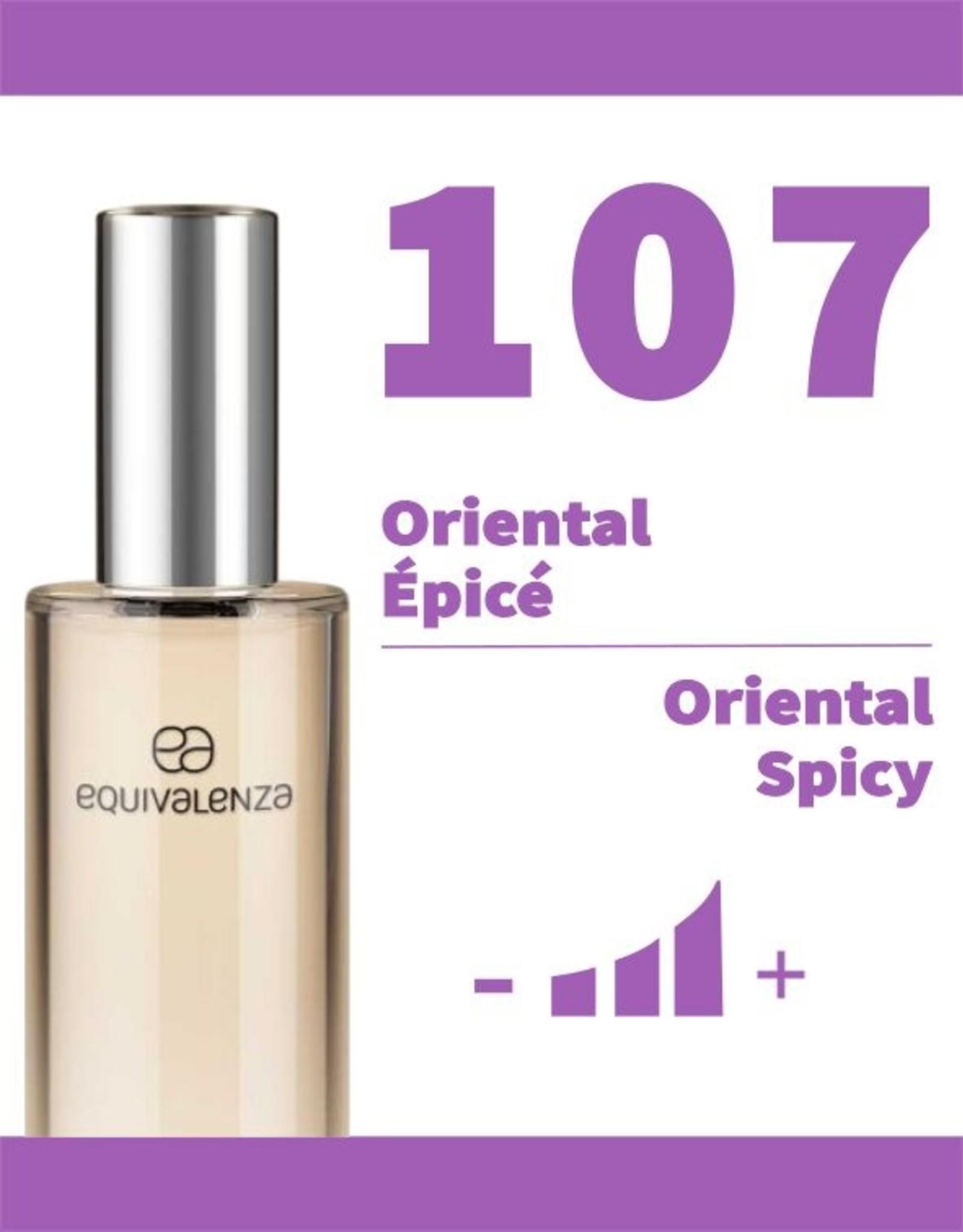 Equivalenza Eau de Toilette Oriental Spicy107