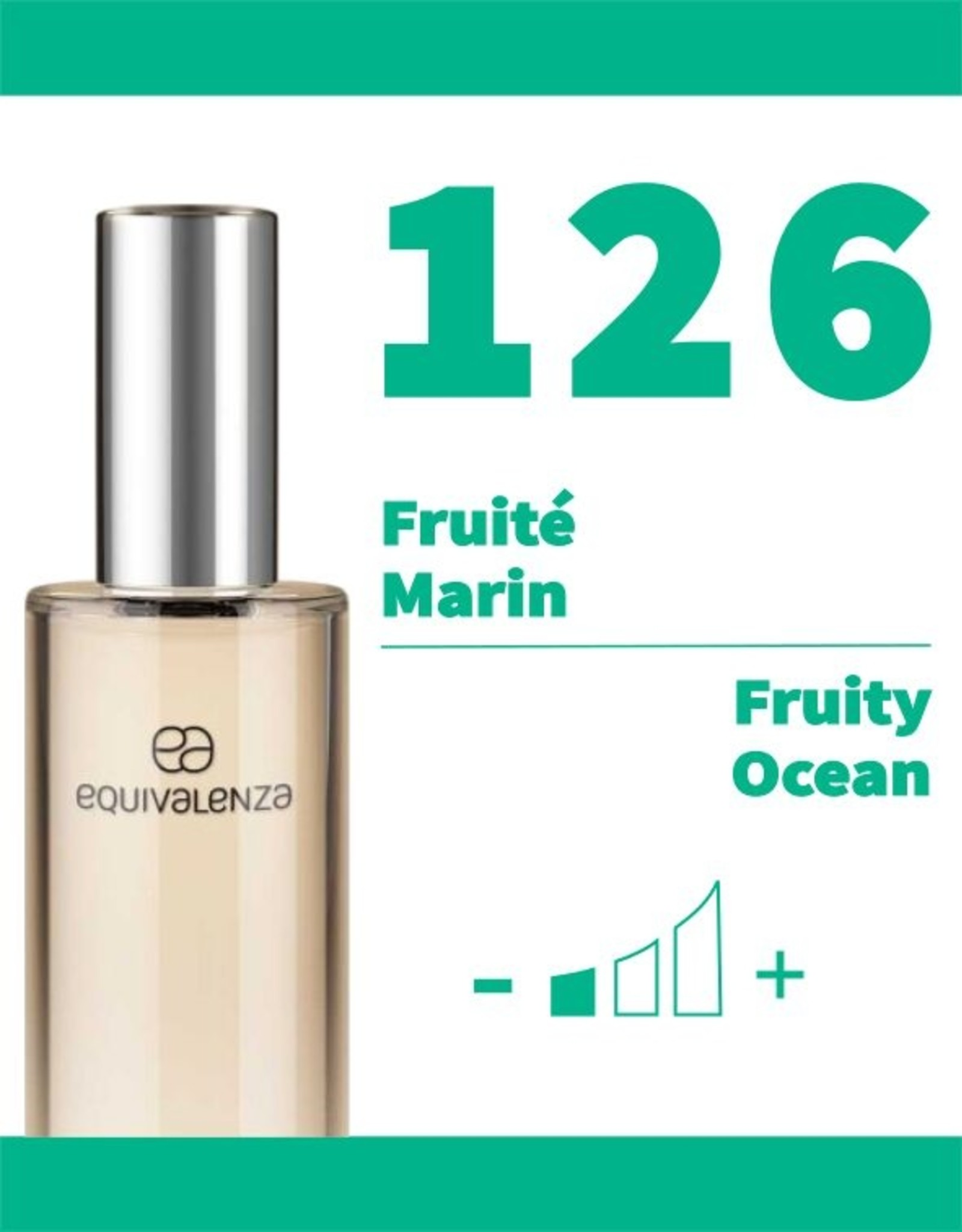 Equivalenza Fruity Ocean 126