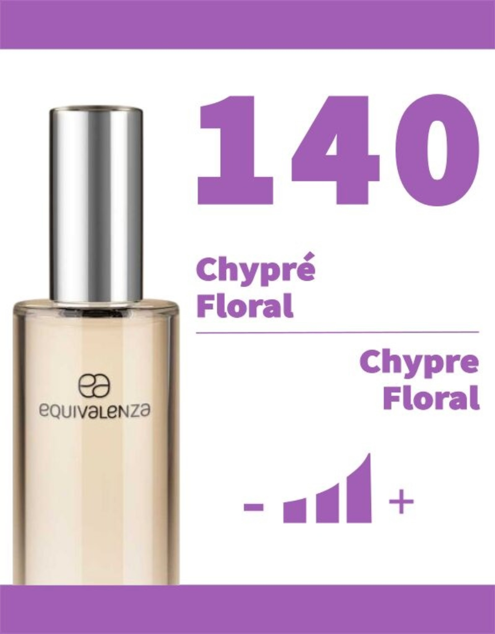 Equivalenza Eau de Parfum Chypre Floral 140