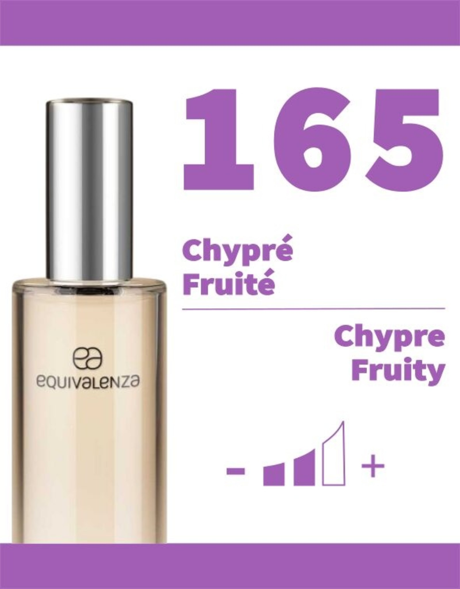 Equivalenza Eau de Parfum Chypré Fruité 165