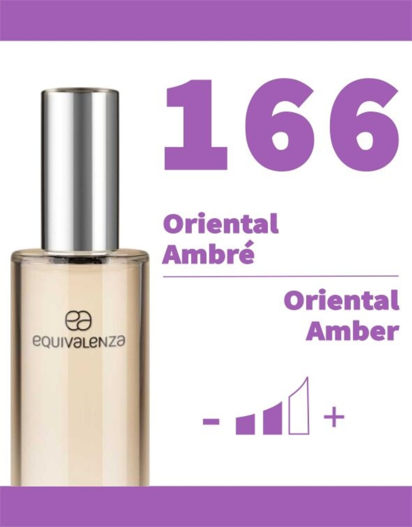 Equivalenza Eau de Parfum Oriental Amber 166