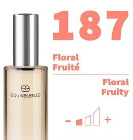Equivalenza Eau de Parfum Floral Fruity 187