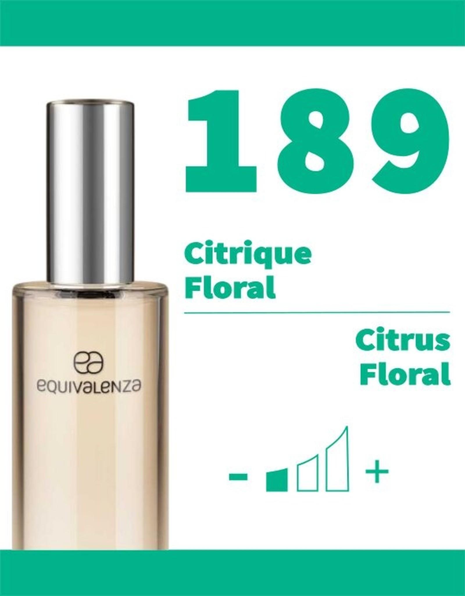 Equivalenza Citrique Floral 189