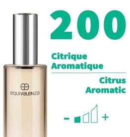 Equivalenza Eau de Toilette Citrus Aromatic 200