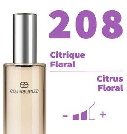Equivalenza Eau de Toilette Citrique Floral 208