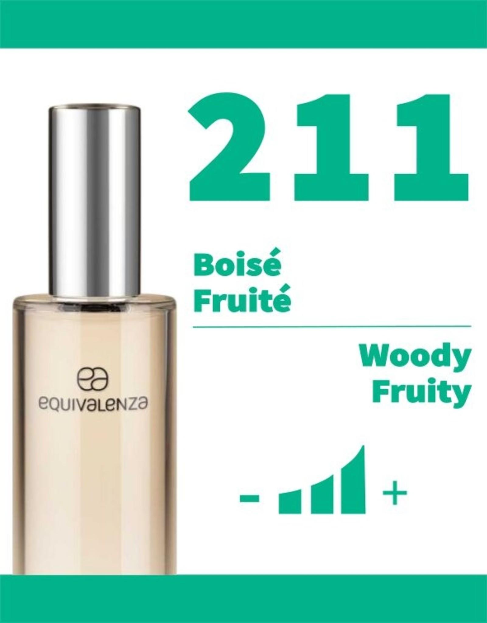 Equivalenza Eau de Toilette Woody Fruity 211