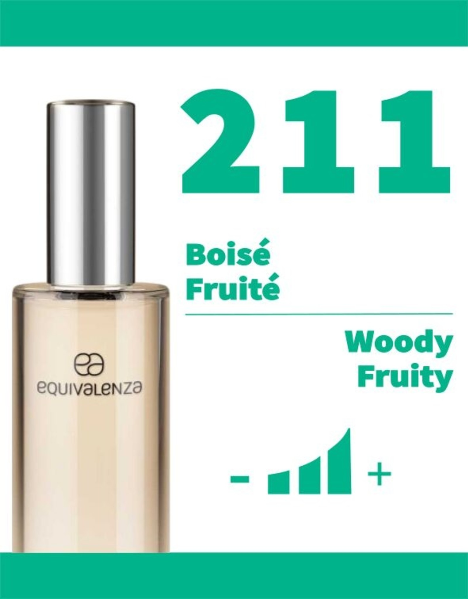 Equivalenza Woody Fruity 211
