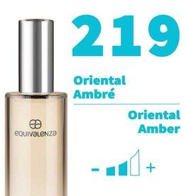 Equivalenza Eau de Toilette Oriental Amber 219