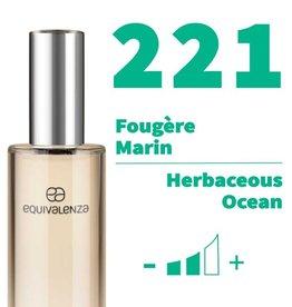 Equivalenza Eau de Toilette Herbaceous Ocean 221