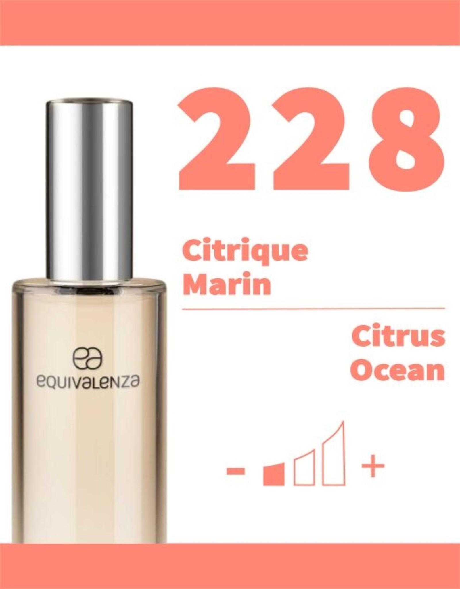 Equivalenza Eau de Toilette Citrique Marin 228