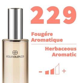 Equivalenza Eau de Toilette Fougère Aromatique 229