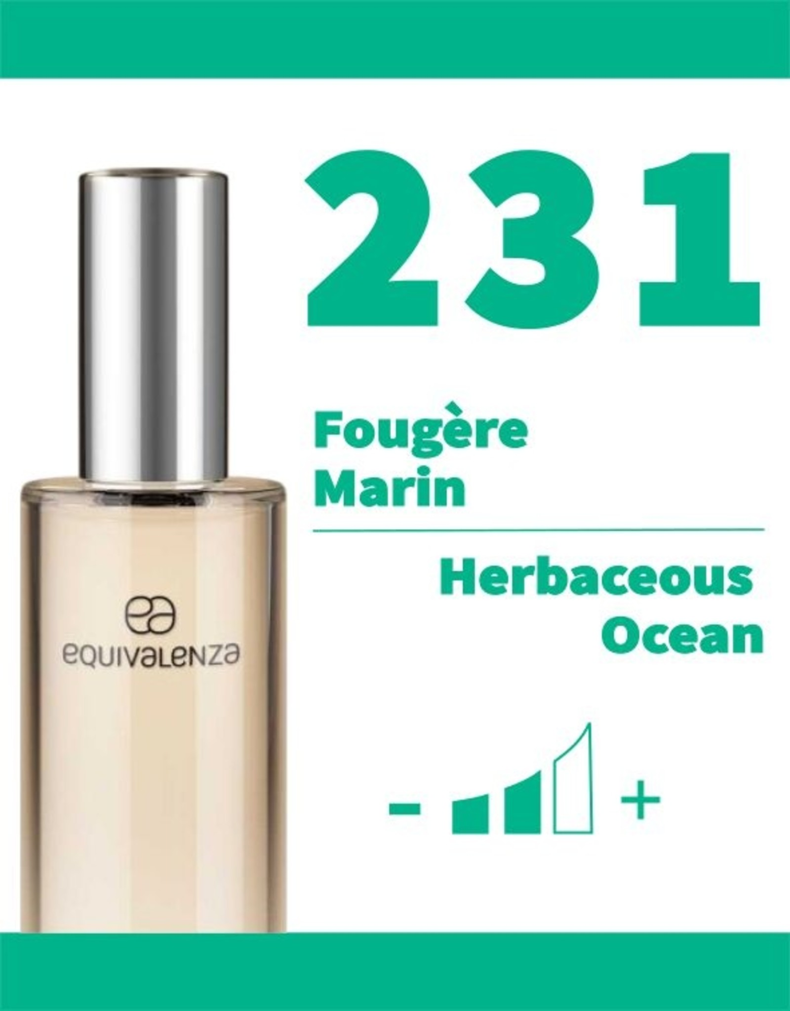 Equivalenza Fougère Marin 231