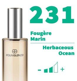 Equivalenza Eau de Toilette Herbaceous Ocean 231