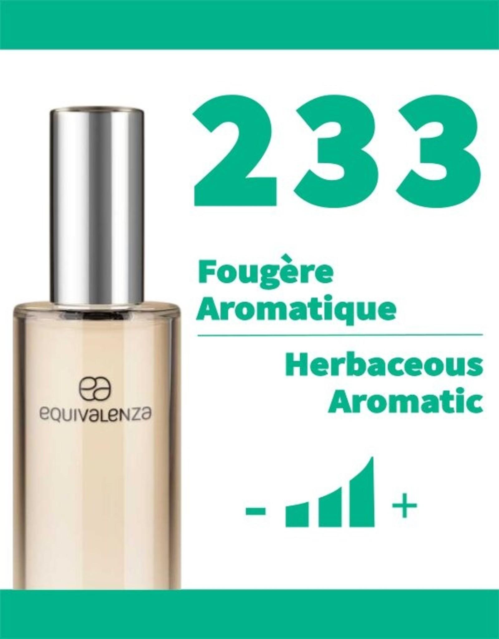 Equivalenza Eau de Toilette Fougère Aromatique 233