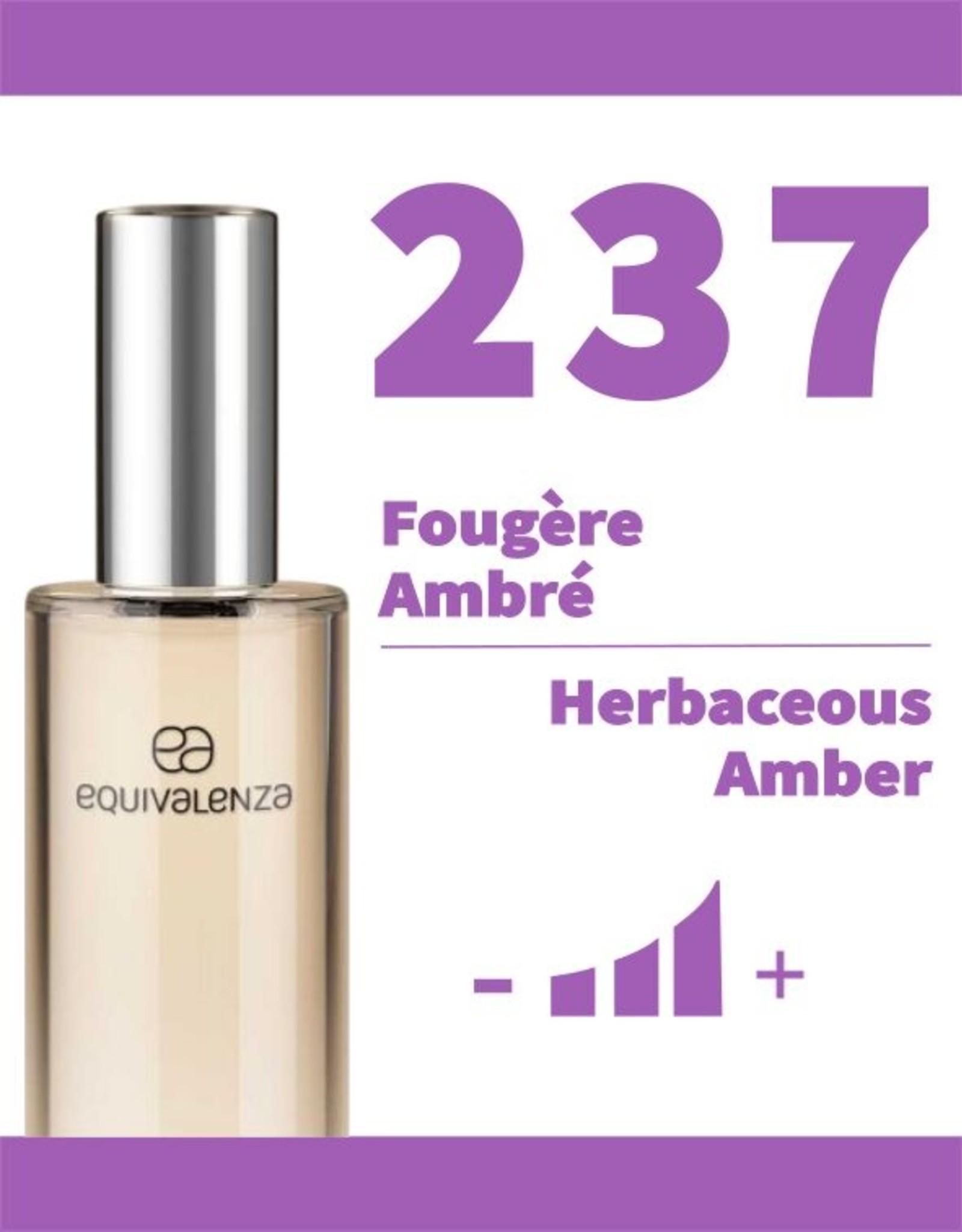 Equivalenza Fougère Ambré 237