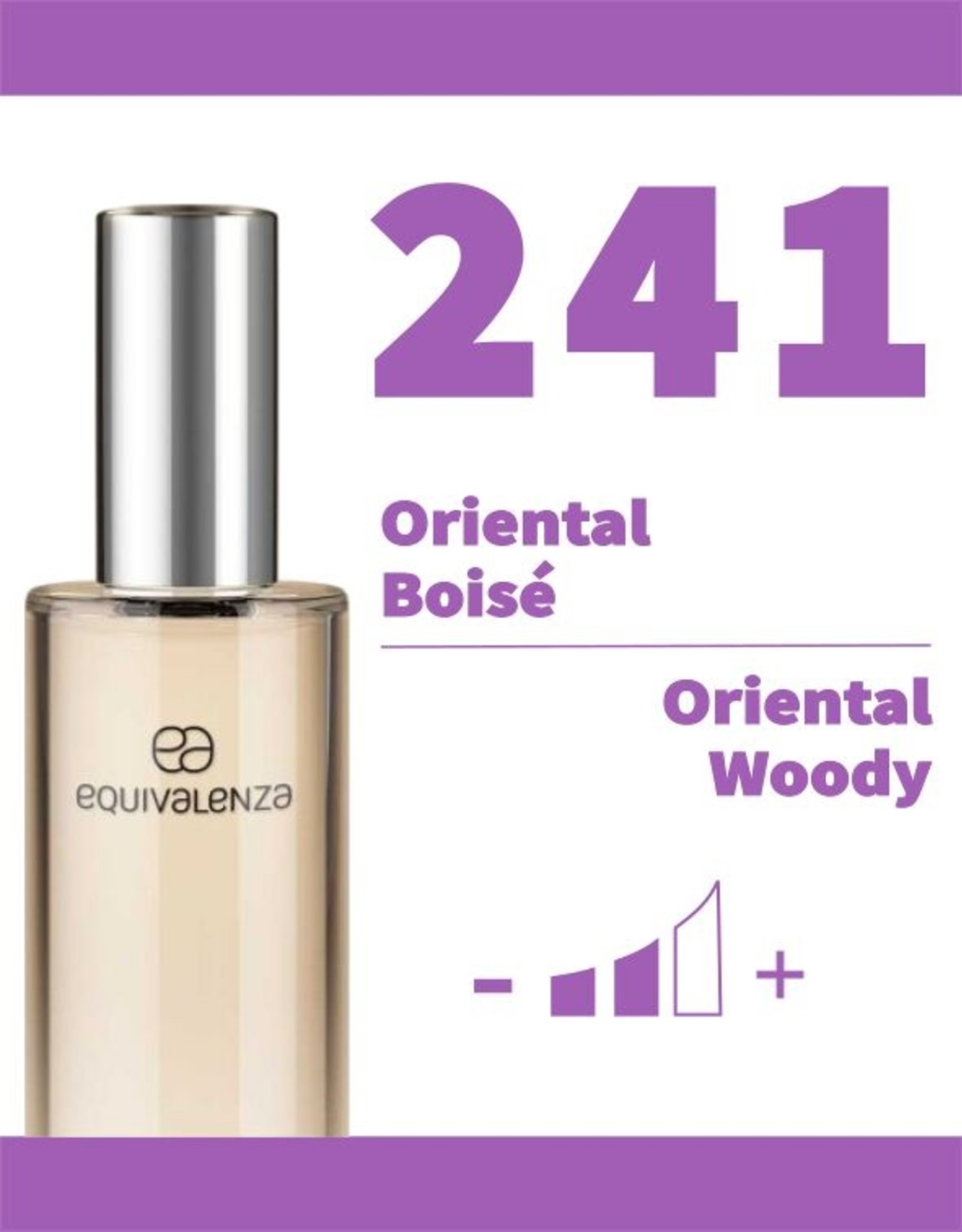 Equivalenza Eau de Toilette Oriental Woody 241
