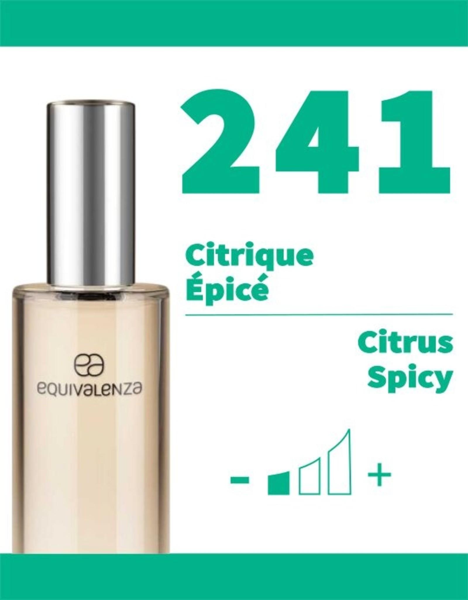 Equivalenza Eau de Toilette Citrus Spicy 241 Urban Sport