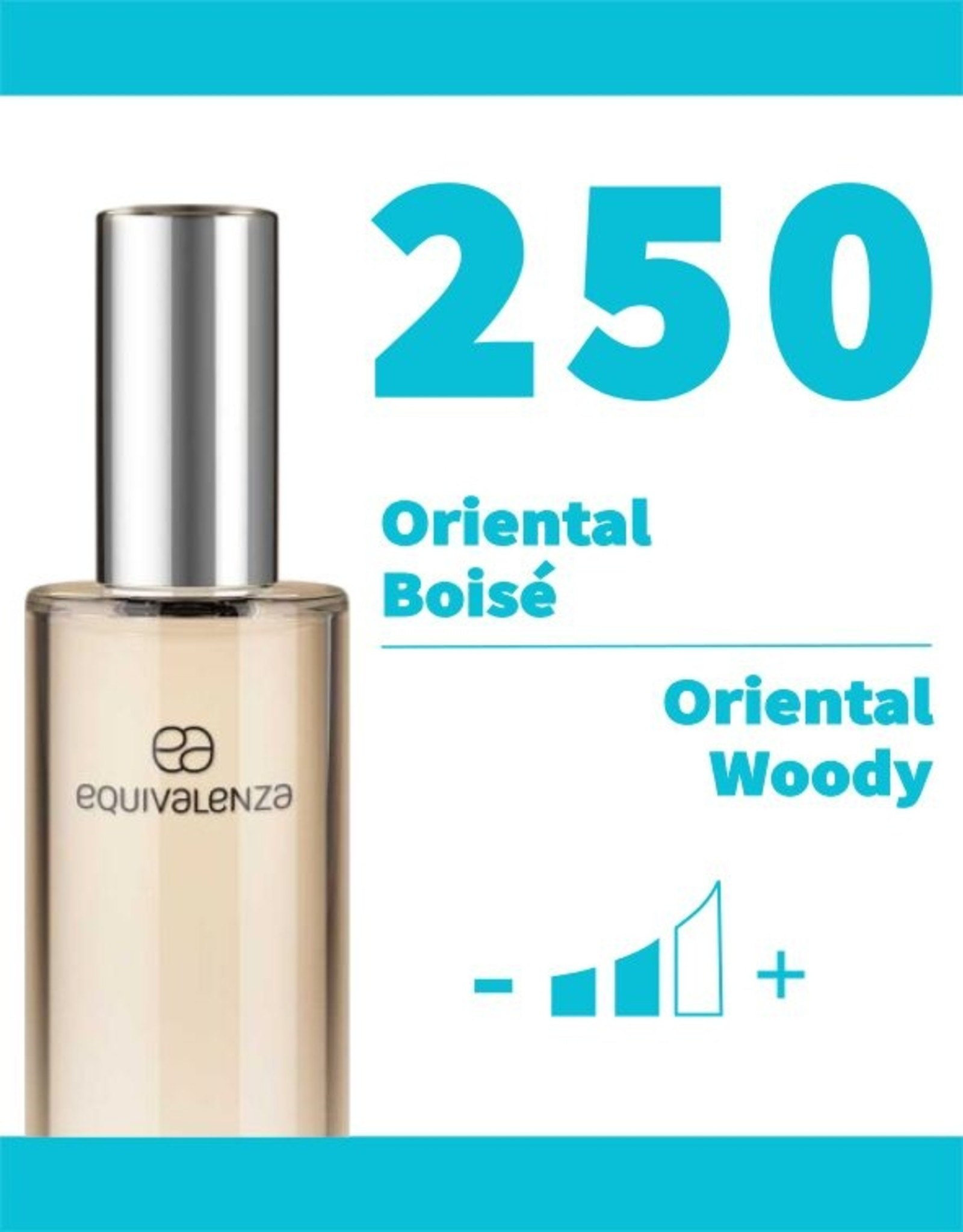 Equivalenza Eau de Toilette Oriental Woody 250