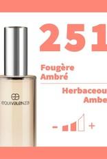 Equivalenza Eau de Toilette Herbaceous Amber 251