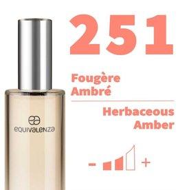 Equivalenza Fougère Ambrée 251
