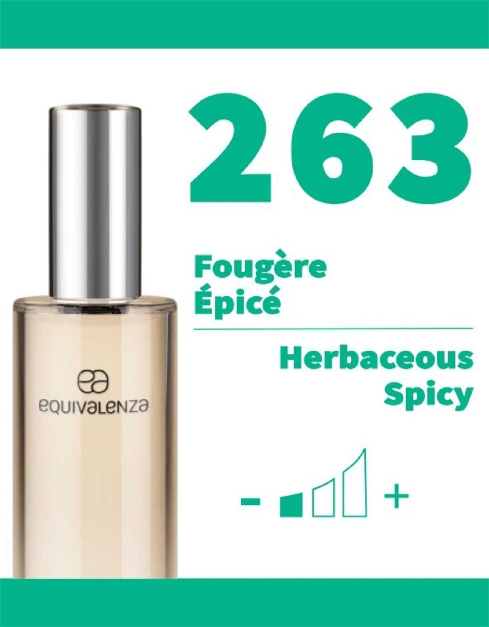 Equivalenza Eau de Toilette Herbaceous Spicy 263
