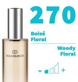 Equivalenza Eau de Toilette Woody Floral 270