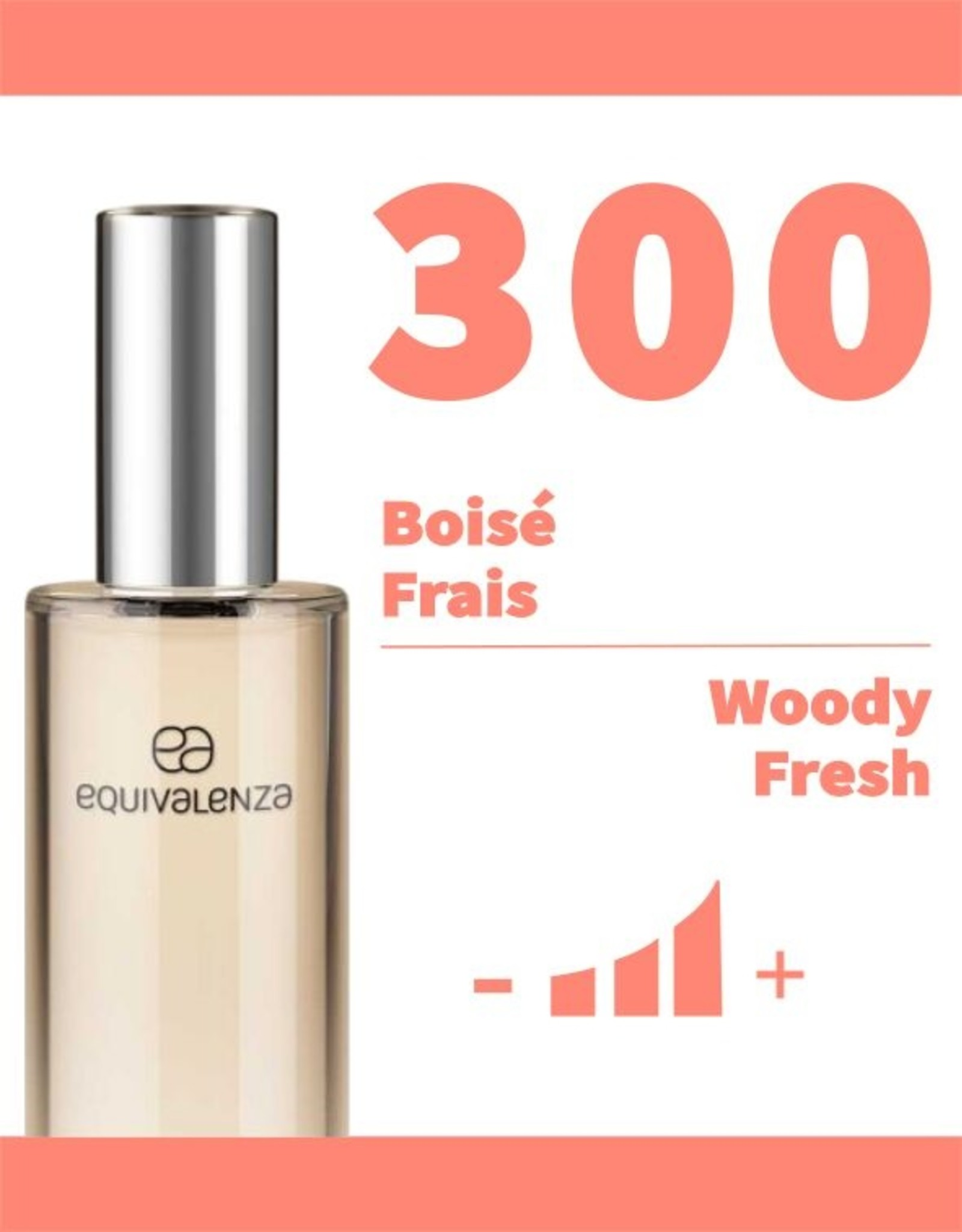 Equivalenza Eau de Parfum Woody Fresh 300